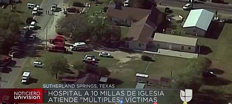 Texas: Atacante habría matado a más de 20 personas al interior de iglesia Bautista