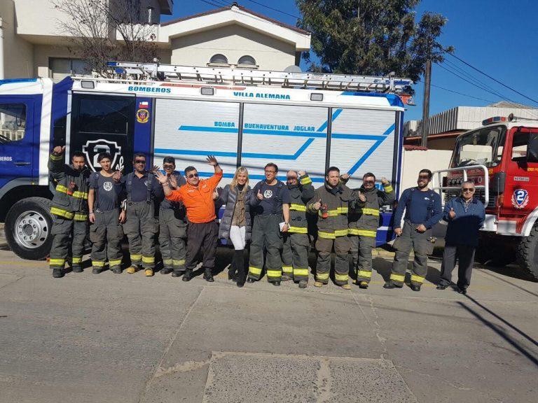Lily Pérez  redestina fondos de cierre de campaña para aporte económico a Bomberos de la región de Valparaíso