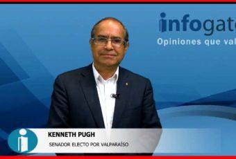 Kenneth Pugh, senador electo por Valparaíso, llama a votar este 17 de diciembre por el proyecto país que propone Sebastián Piñera