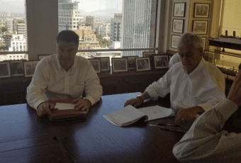 Cumbre Piñera-Ossandón: El senador se compromete a apoyar al ex Presidente en segunda vuelta