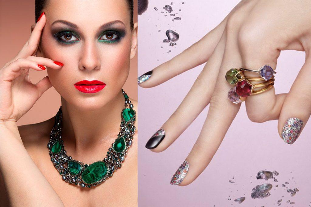 Uñas y maquillaje serán protagonistas en las fiestas de fin de año