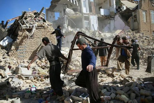 Más de 460 muertos deja terremoto que afectó a Irán e Irak