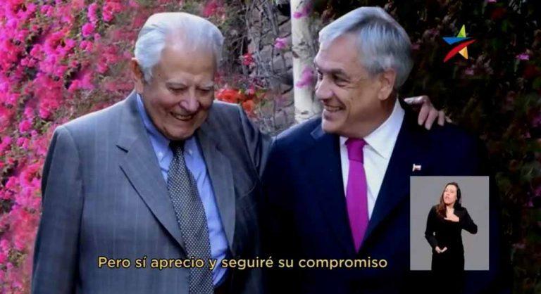 Hijos de Aylwin reclaman por uso de imagen de ex Presidente en franja electoral de Piñera y la que no reclama es la díscola Mariana