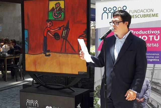 Exposición de pintura mostrará obras de jóvenes con discapacidad cognitiva