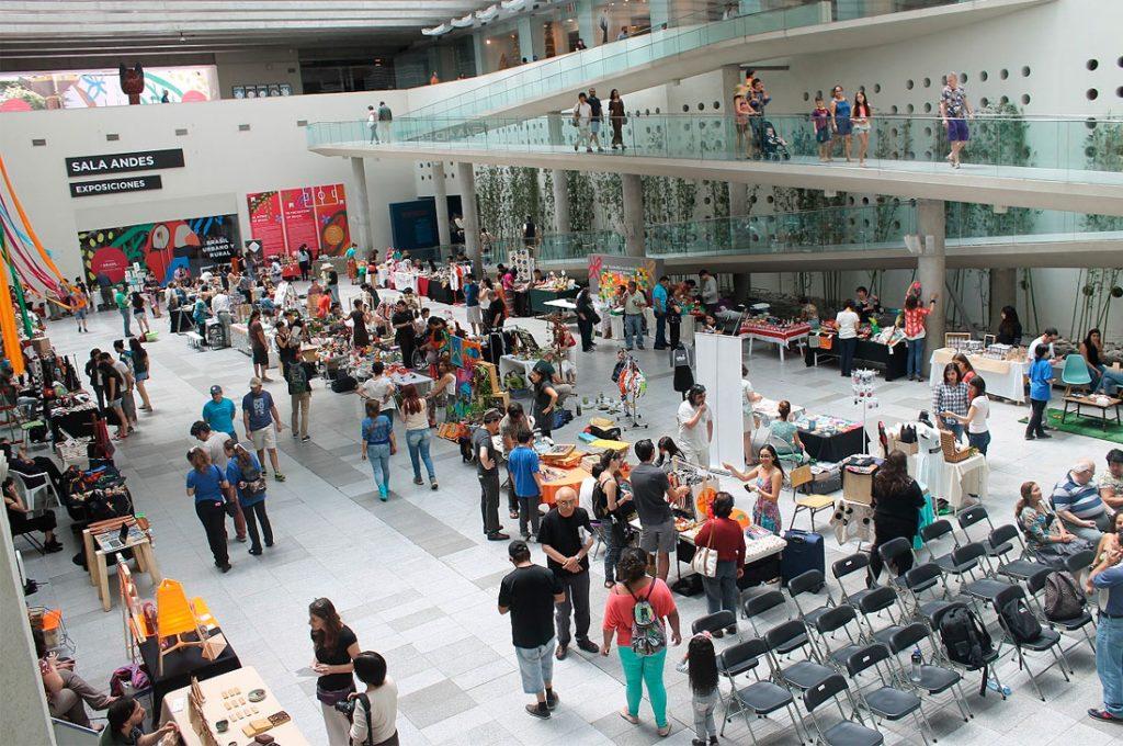 Feria Navideña en el Centro Cultural La Moneda