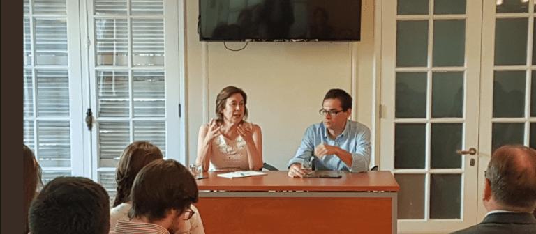 Mariana Aylwin la sigue haciendo: Ahora apareció en la Fundación Jaime Guzmán