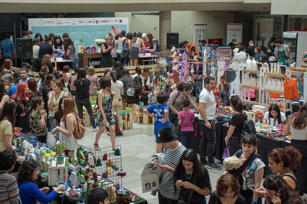 Cosmética, maquillaje y actividades gratuitas en Feria Ecobelleza Valparaíso