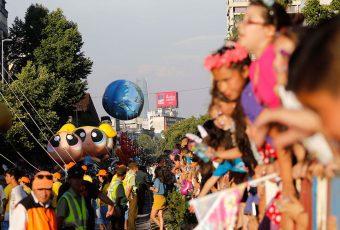 800 mil personas disfrutaron de la 8va versión de Paris Parade