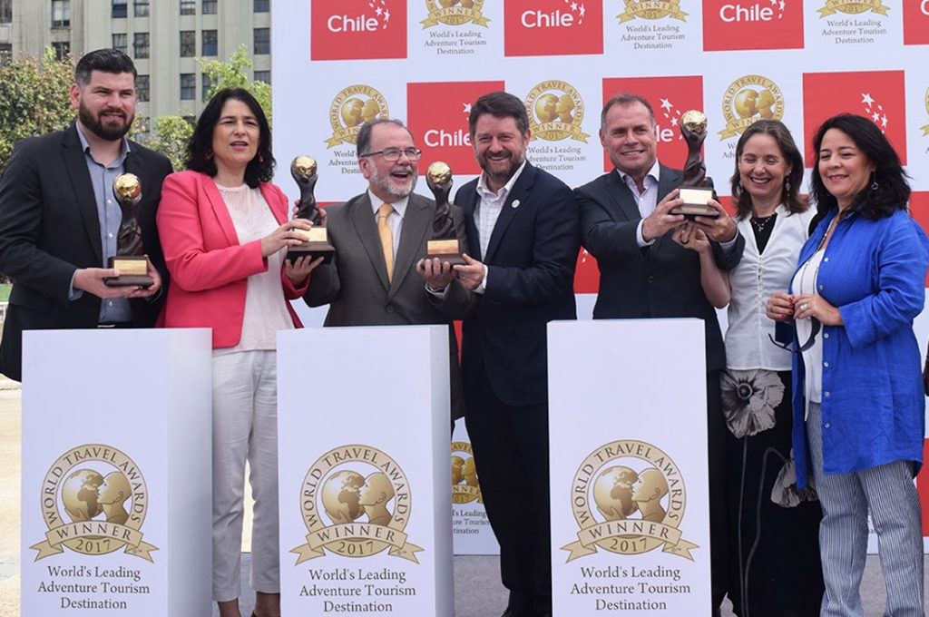 """Chile gana premio """"Mejor Destino de Turismo Aventura del Mundo"""" en los World Travel Awards"""