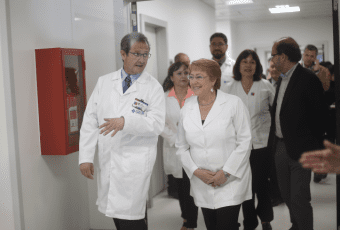 "Bachelet visita el nuevo Hospital Regional de Antofagasta ""Leonardo Guzmán"""