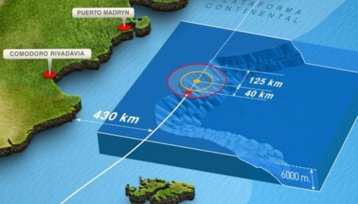 """Búsqueda ARA San Juan: Argentina confirma que buscará """"contacto"""" a 950 metros de profundidad detectado por buque de la Armada de Chile"""