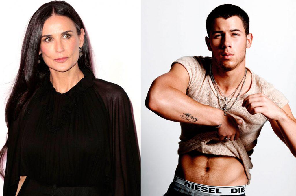 Demi Moore tendría romance con Nick Jonas
