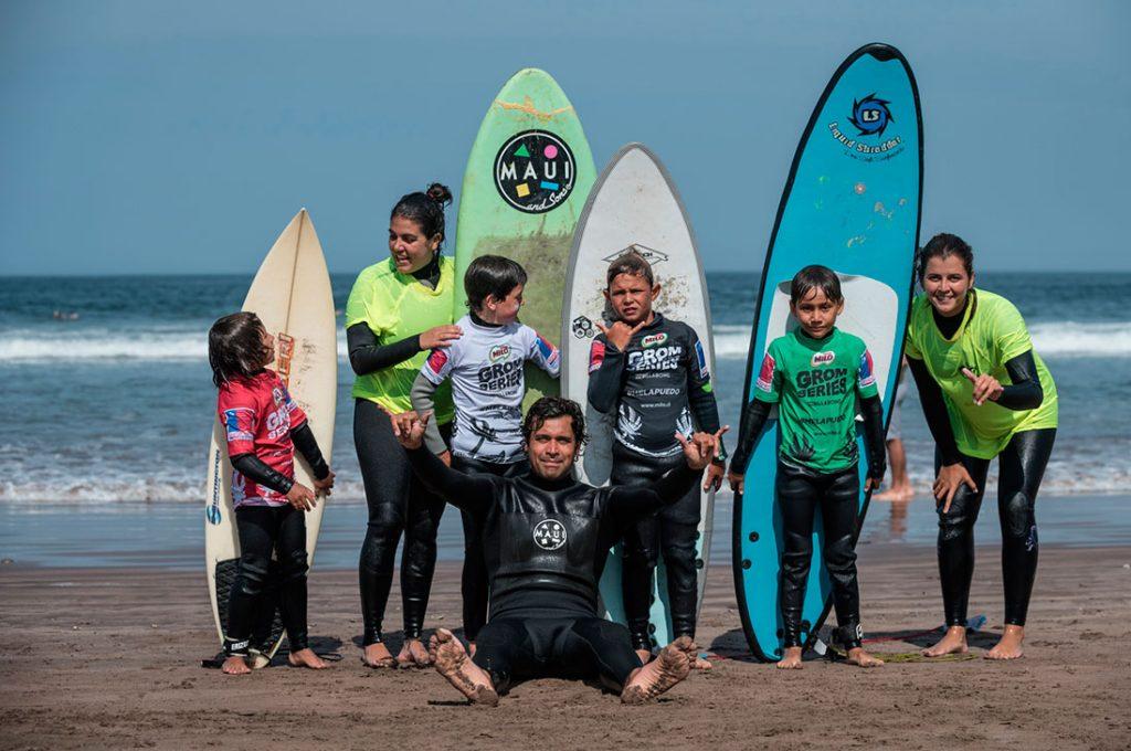 """Con gran éxito finalizó primera etapa del circuito de surf para niños  """"MILO  Grom Series by Billabong"""" 0c6c3a7a3cc"""