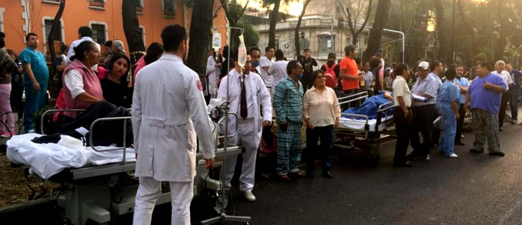 VIDEO // Terremoto 7,2 sacude nuevamente México