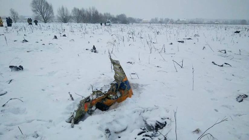 Avión de Saratov Airlines se estrella cerca de Moscú: 71 muertos