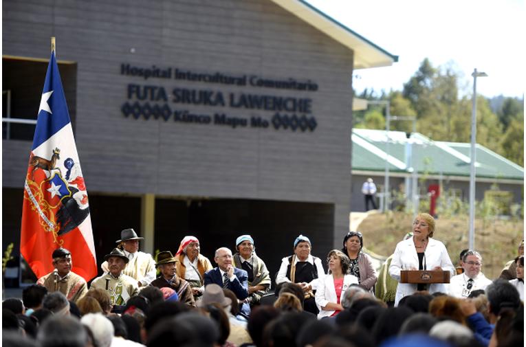 Presidenta inaugura hospital intercultural en San Juan de la Costa