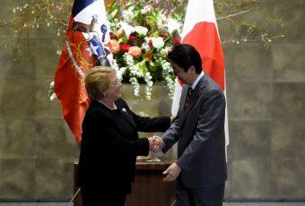 Presidenta Bachelet se alinea con Japón y manifiesta su apoyo a la preocupación nipona por Corea del Norte