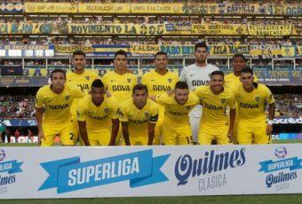 Fútbol argentino: Boca golea a San Martín de Sn. Juan 4 -2