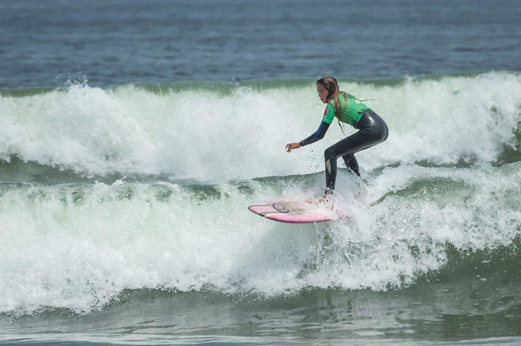 """Finaliza en La Serena segunda etapa del circuito de surf """"MILO Grom Series by Billabong"""""""