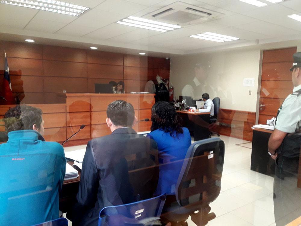 Huracán II: Juzgado de Garantía de Mariquina decreta arraigo nacional y firma mensual de imputados por obstrucción a la investigación