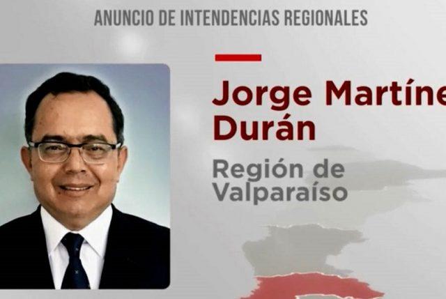 El designado Intendente de Valparaíso: Jorge Martínez abogado y RN