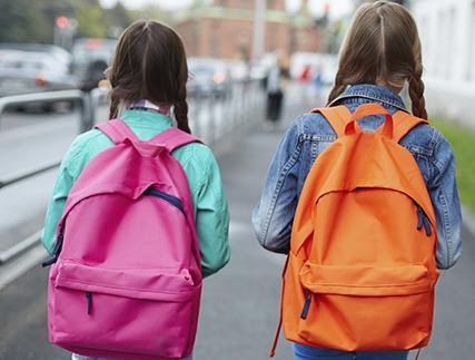 Ojo con la mochila para el colegio