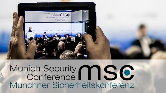 Este viernes parte la Conferencia de Seguridad de Múnich