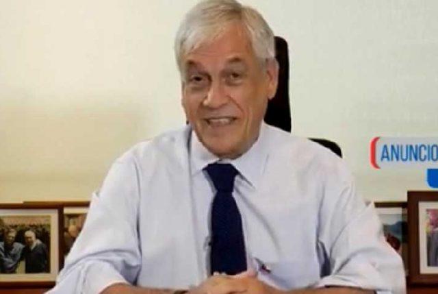 Sebastián Piñera, Presidente de Chile, dejando en las manos de la naturaleza el incendio en Cochrane