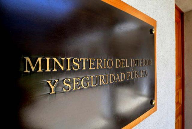 """Ministerio del Interior presentará recurso de queja y apelación a sobreseimiento definitivo en """"Operación Huracán"""""""