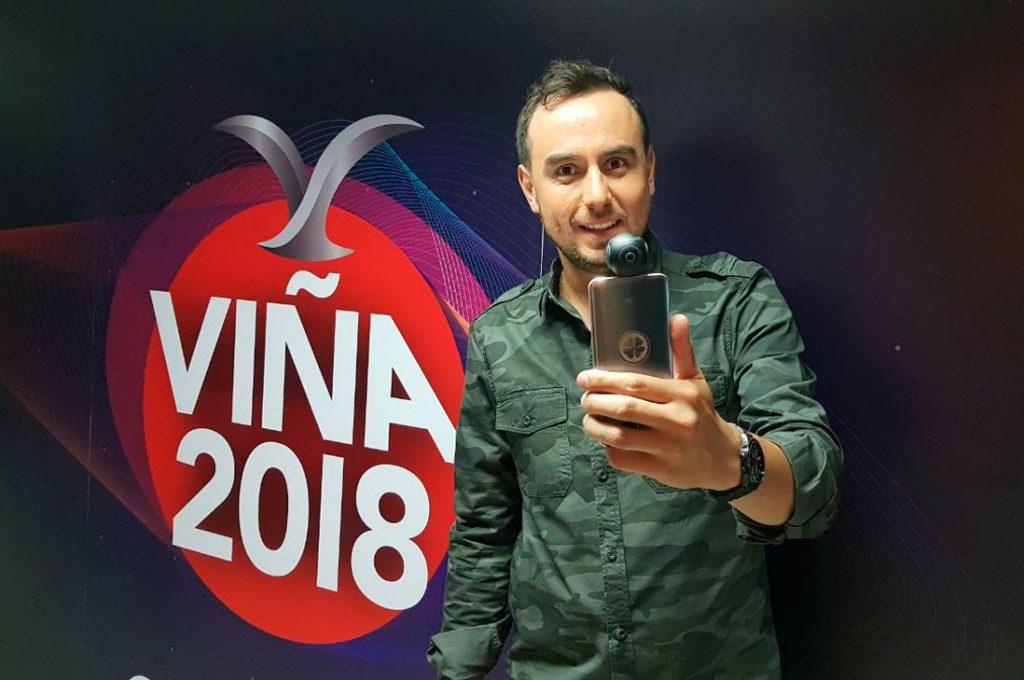 Por primera vez el lado B de Viña 2018 se mostrará en 360°