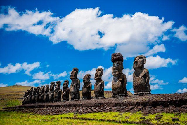 Capel se une a la fiesta Tapati de Rapa Nui