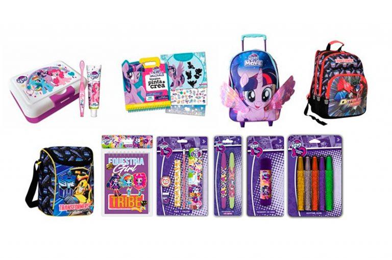 Prepara esta vuelta a clases con My Little Pony, Equestria Girls y Transformers