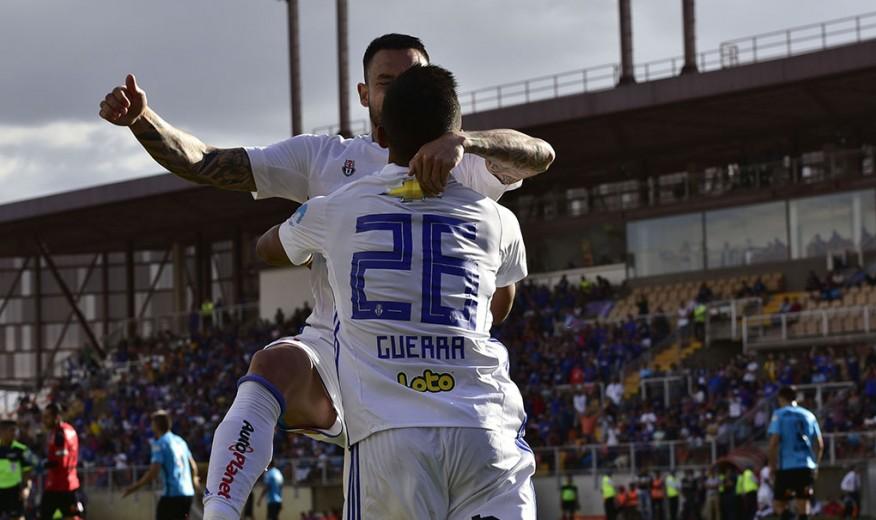 """La """"U"""" se reivindica con un triunfo sobre Deportes Iquique en Calama"""