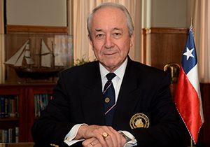 Miguel Ángel Vergara Villalobos; presidente Liga Marítima de Chile