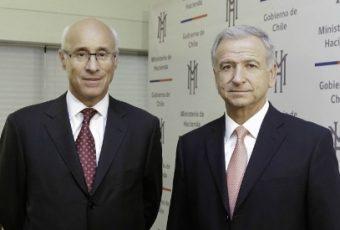 Ministro Larraín nombra a Arturo Tagle Quiroz en la presidencia de Bancoestado