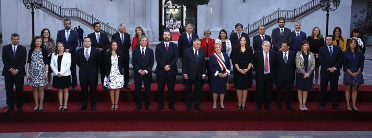 Presidenta Bachelet en su último día como Jefa de Estado se despidió de La Moneda