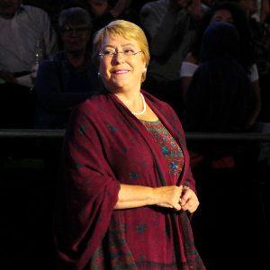 Michelle Bachelet, ex Presidenta de la República