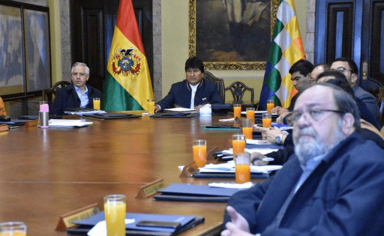 """Morales califica como """"usurpación"""" la pérdida de territorio en la Guerra del Pacífico y pide que los compromisos entre Estado se cumplan"""