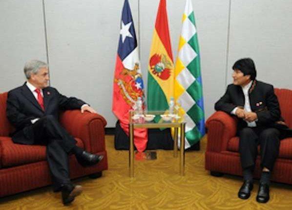 """Evo Morales en Chile a pesar de haber demandando en La Haya: """"Tenemos toda la predisposición al diálogo"""""""