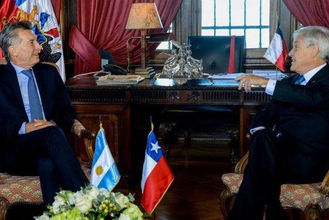 """Macri tras reunión con Piñera llamó a mejorar """"la integración física y la energética"""""""
