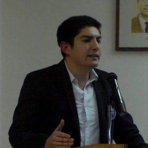 Diego Calderón, presidente JDC