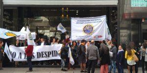 ANEF protesta afuera del Ministerio del Medio Ambiente