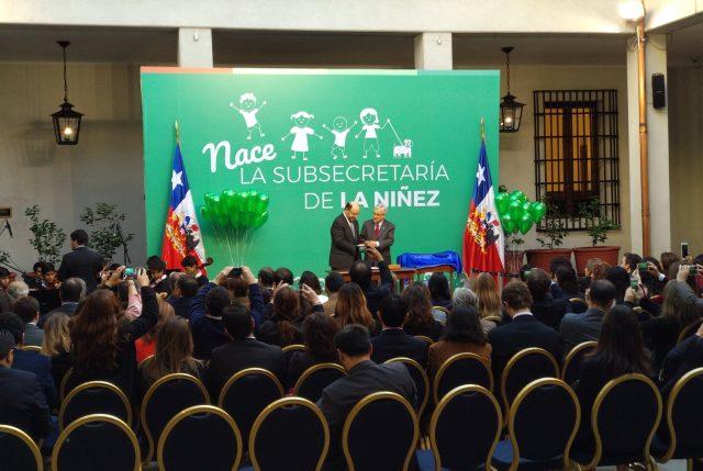 Se promulgó la Ley que crea la Subsecretaría de la Niñez