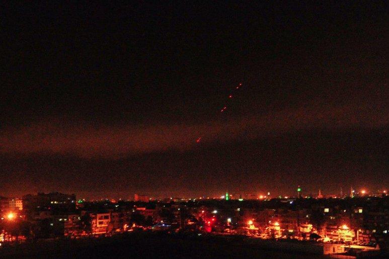 Se conocen primeras imágenes del ataque de Estados Unidos contra Siria