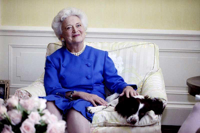 A los 92 años muere Barbara Bush, así lo confirmó su familia