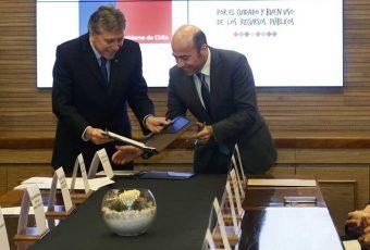 En medio de casos Paco y Milico Gate, Ministerio de Defensa firma convenio con la Contraloría para evitar corrupción en la Defensa Nacional
