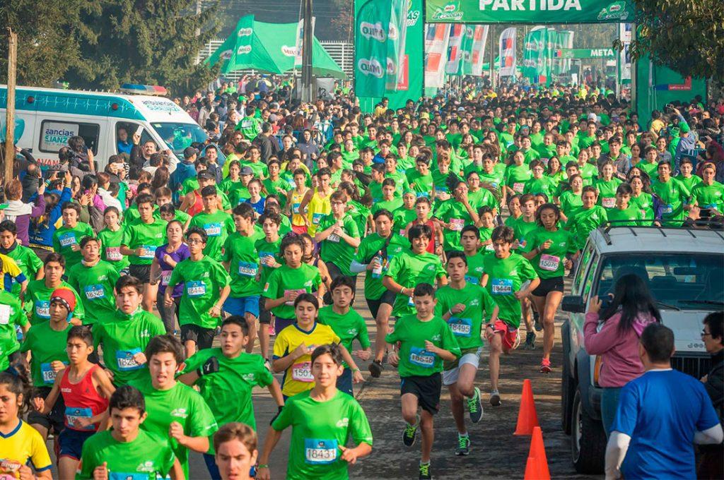Temuco será la primera ciudad en celebrar los 10 años de Corridas MILO