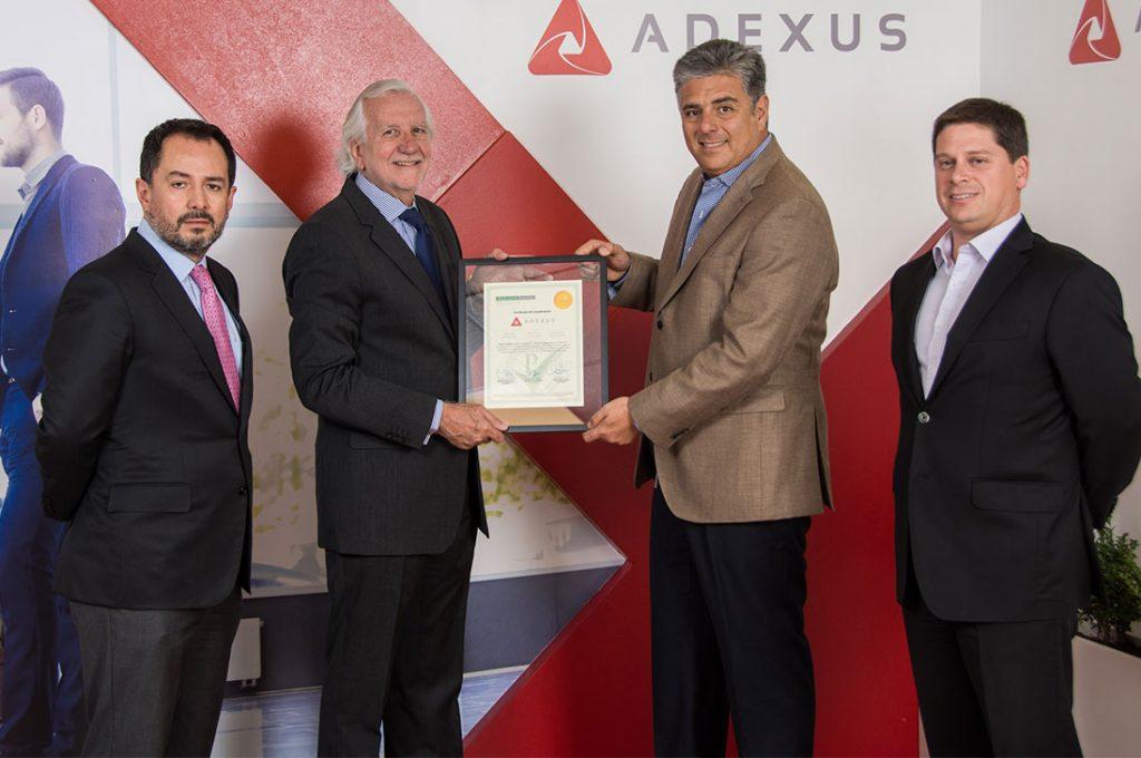Adexus certifica su modelo de Prevención de Delitos