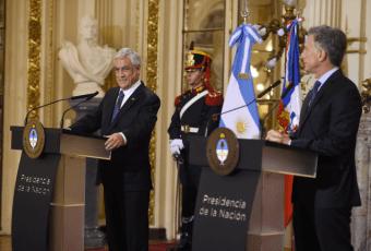 La agenda pro desarrollo que comprometieron Presidentes Macri y Piñera