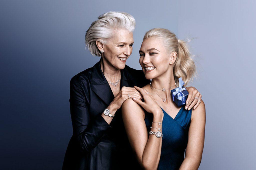 Swarovski lanza colección del día de la madre junto a Karlie Kloss y Chiara Ferragna